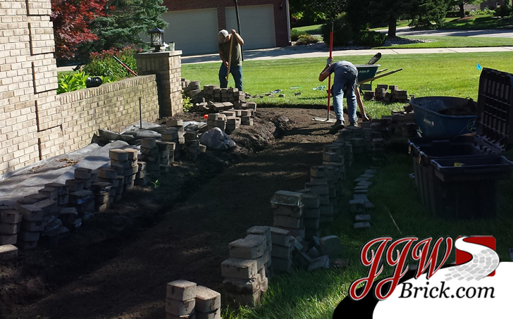 Brick Walkway Repair Service MI