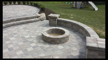 Brick Fire Pit Gallery