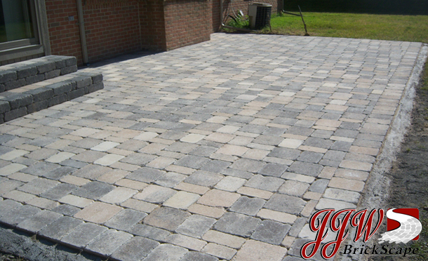 Brick And Pavers Patio Design Chesterfield MI New - Block patio designs