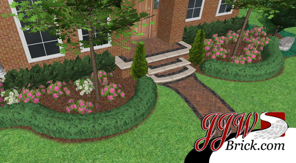 brick landscaping design in beverly hills mi brick paver porchbrick landscaping beverly hills mi
