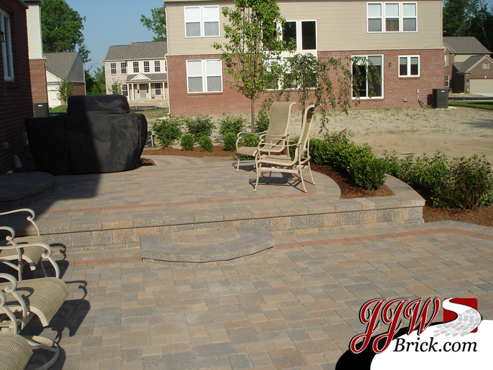 Brick Patio Washington Twp MI