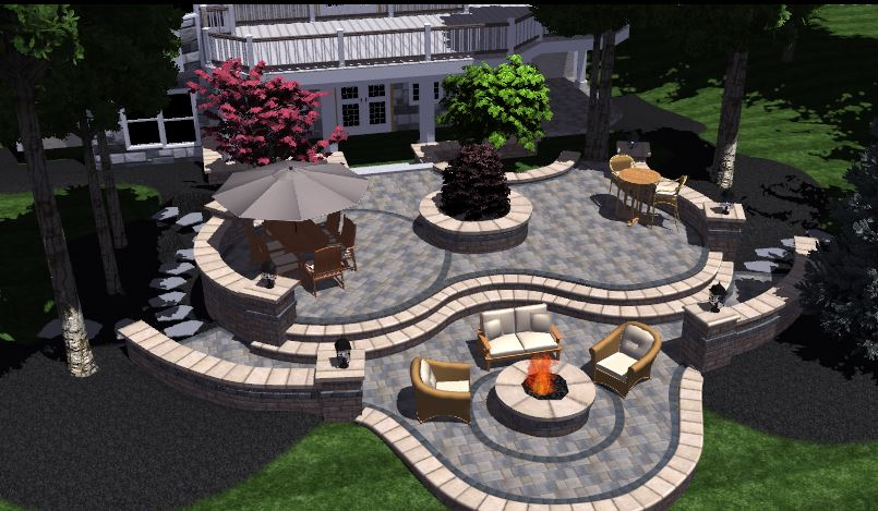 Charmant Patio Design Bloomfield Hills