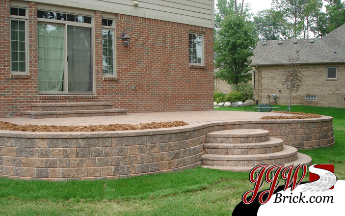 Paver Patio Design Shelby Twp MI