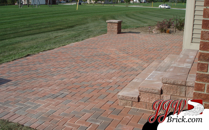 Paver Brick Patio Bloomfield Hills MI
