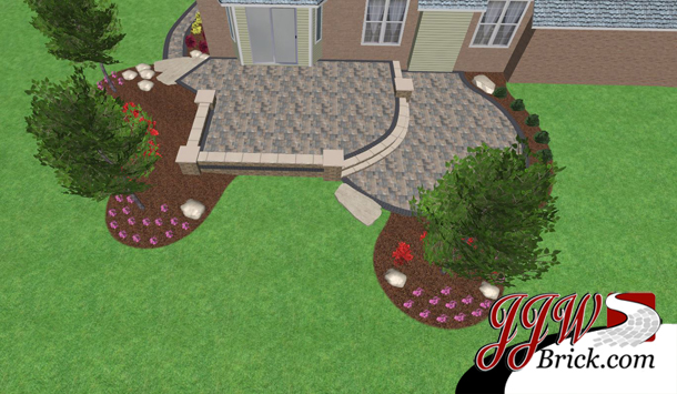Patio Landscape Design Shelby Twp, Michigan