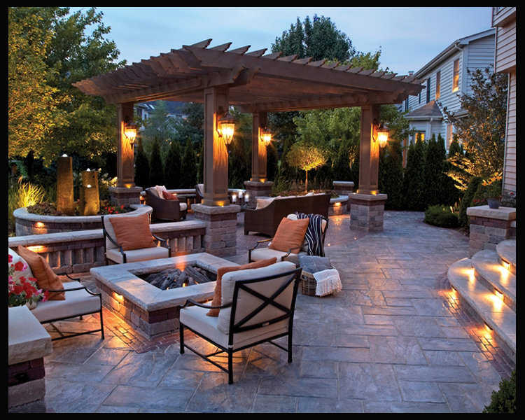 Need Design Ideas For Your Patio And Front Yard? | Brick Patio U0026 Landscape  Design MI