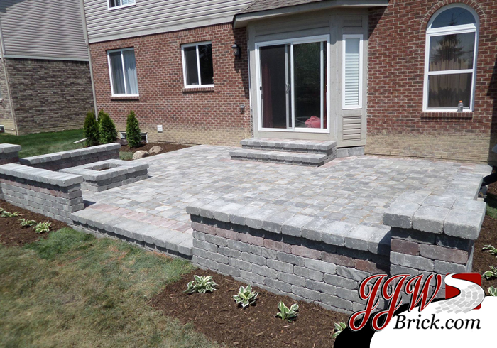 Brick Paver Patio Design 1 Troy MI ...