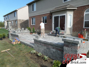 Paver Patio Installation Oakland Township MI