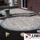 Raised Brick Paver Patio Design & Installation Chesterfield, MI
