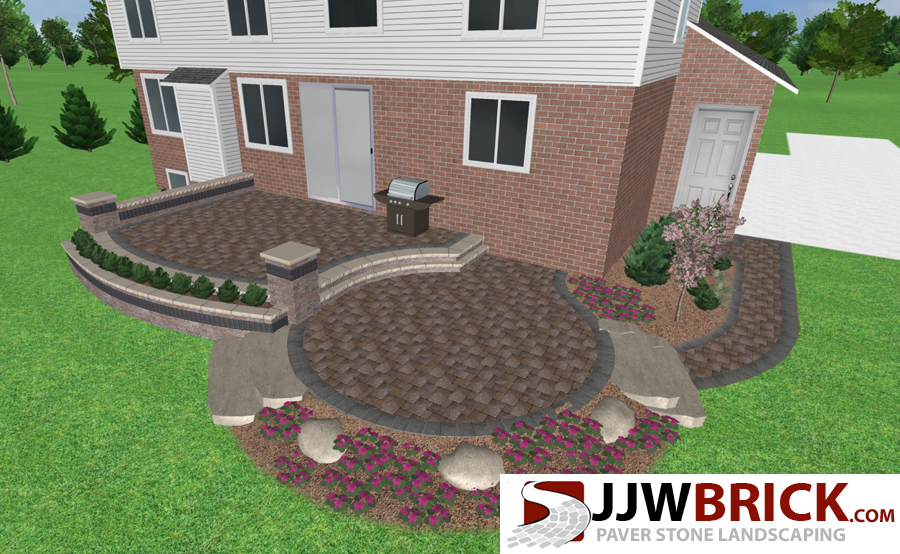 Exceptional ... Paver Patio Ideas Chesterfield MI ...