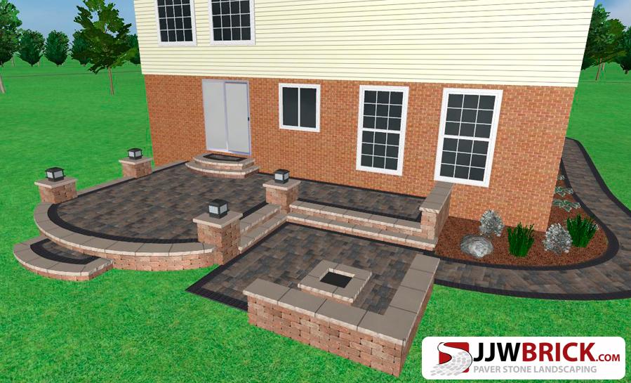 landscaper macomb mi landscaping companies macomb mi paver patio installation macomb mi - Paver Patio Design