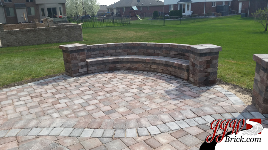 ... Landscaping Companies Macomb MI - New Paver Patio Installation In Macomb, MI 48042