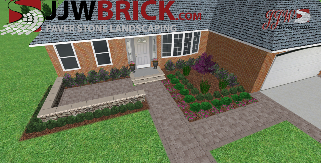 Front Landscaping Plan Macomb MI