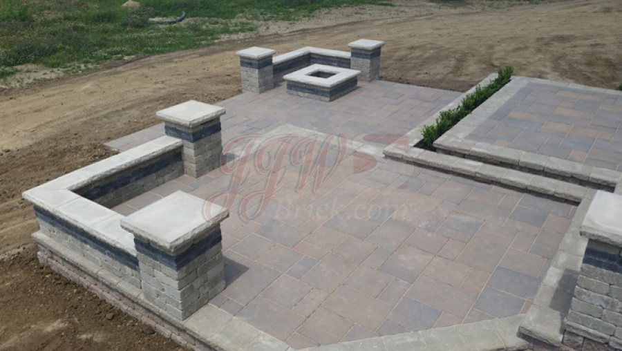 Paver Patio Photos Patios Photo Gallery Jjw Brick Mi