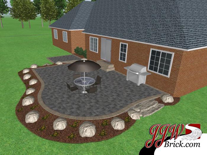 Brick Patio Design Bruce Twp Mi
