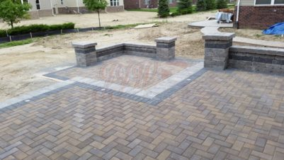 Brick Paver Gives Patio Design Ideas